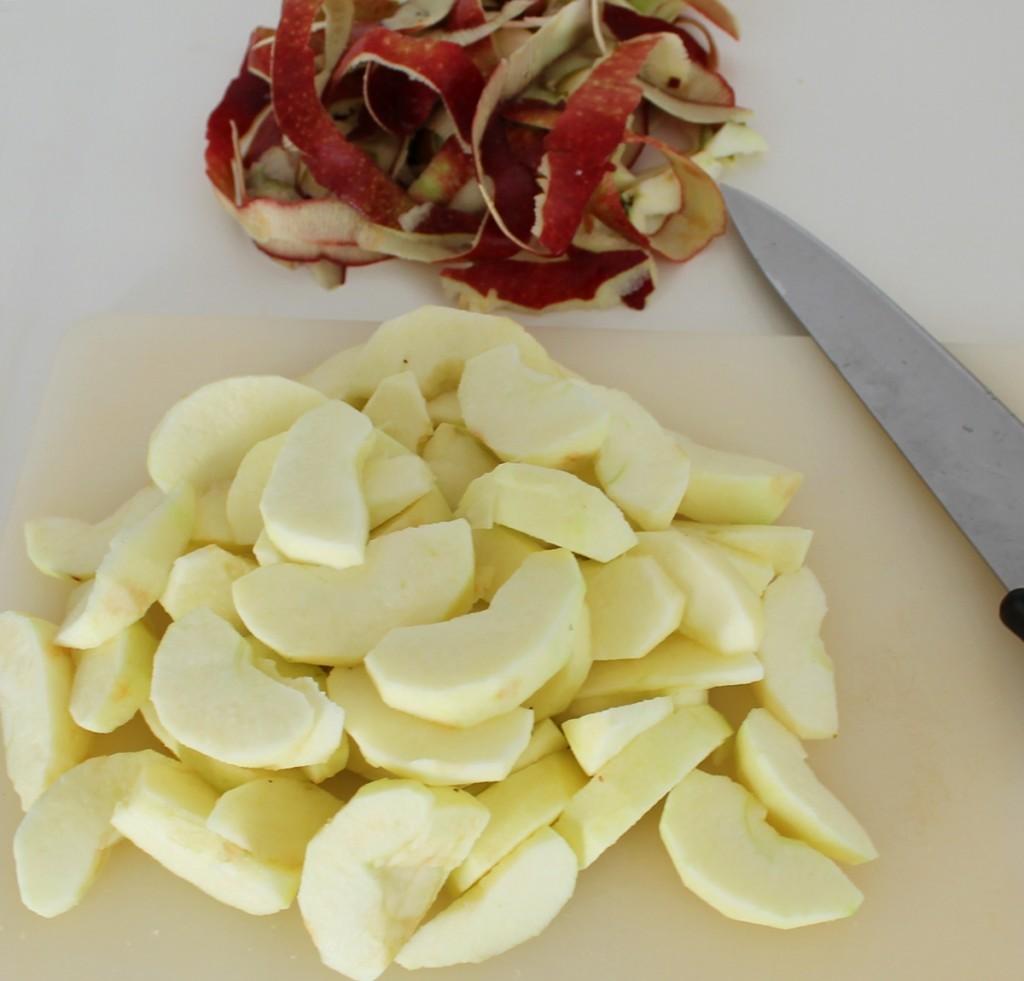 Æblekage, æbler, september 2013