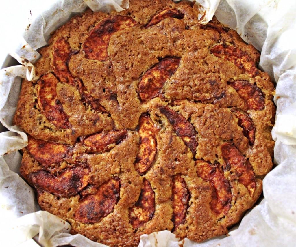 Æblekage, færdig, september 2013
