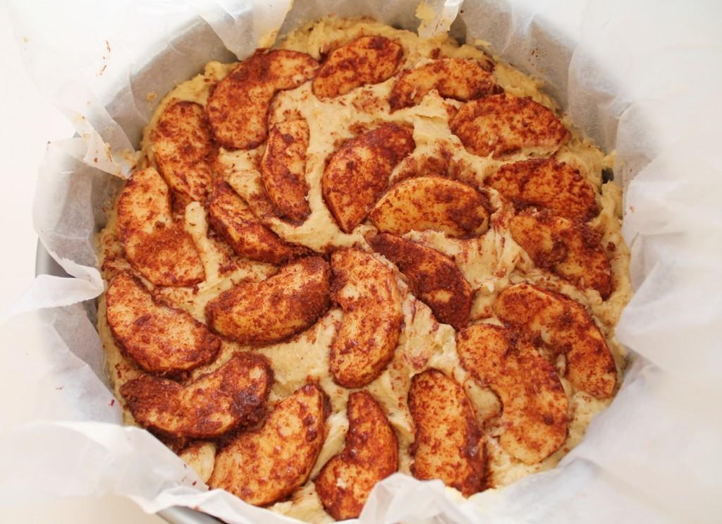 Æblekage, til bagning, september 2013
