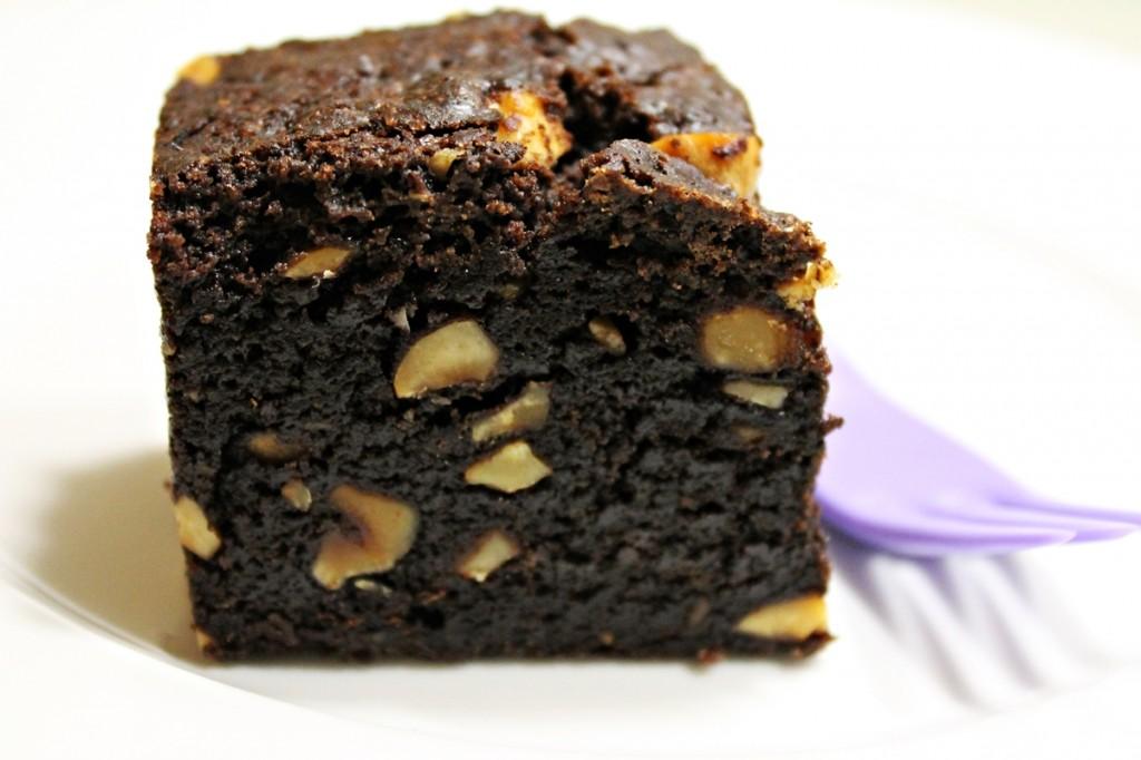 svensk chokoladekage - et stykke, november 2012