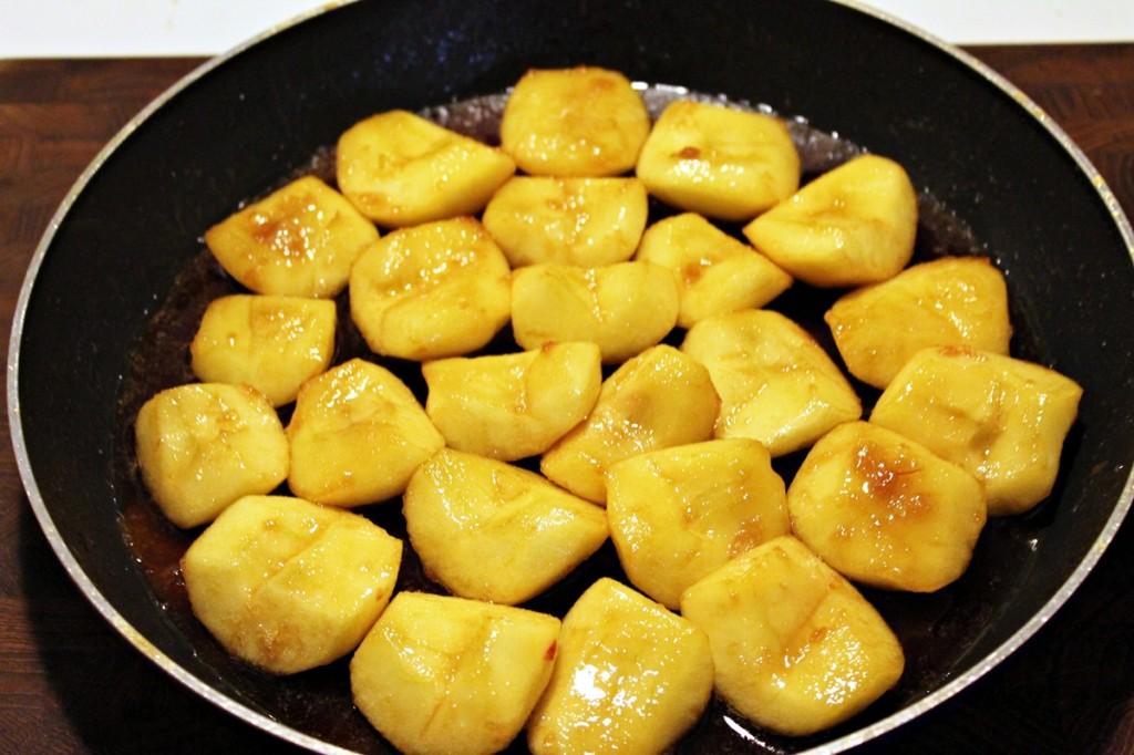Tarte tatin, æbler i karamel, feb 2013