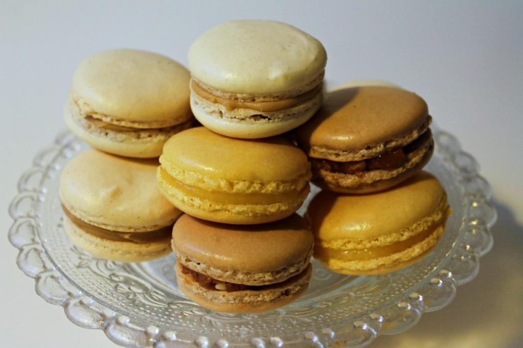 Tre slags macarons - færdige1, november 2012