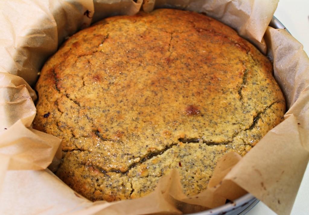 Citronkage, færdigbagt med sirup, marts 2013