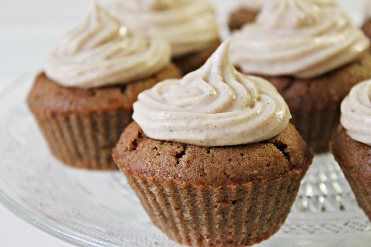 Ideen til chai latte cupcakes kom til mig en dag på arbejdet, da en ...