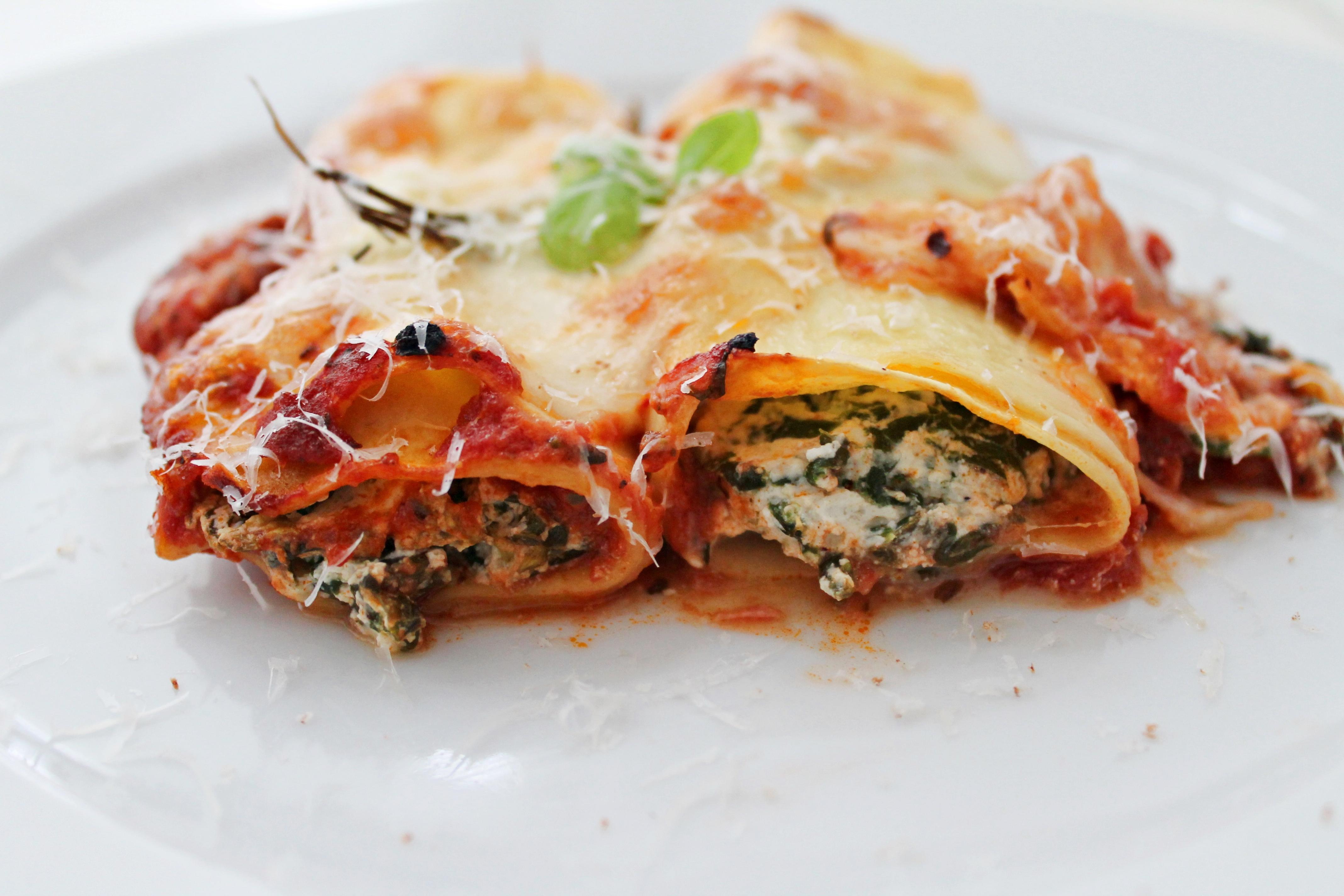 Cannelloni Med Spinat Og Ricotta Sofies Spisekammer