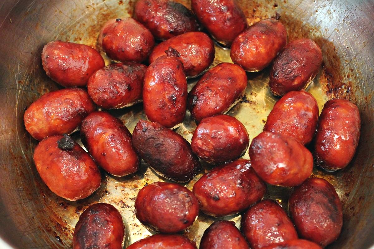 Chorizo i sherry, stegt, februar 2014