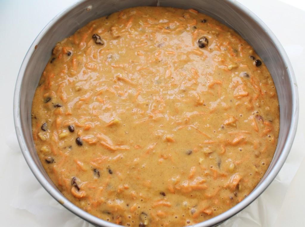 Gulerodskage, til bagning, september 2013