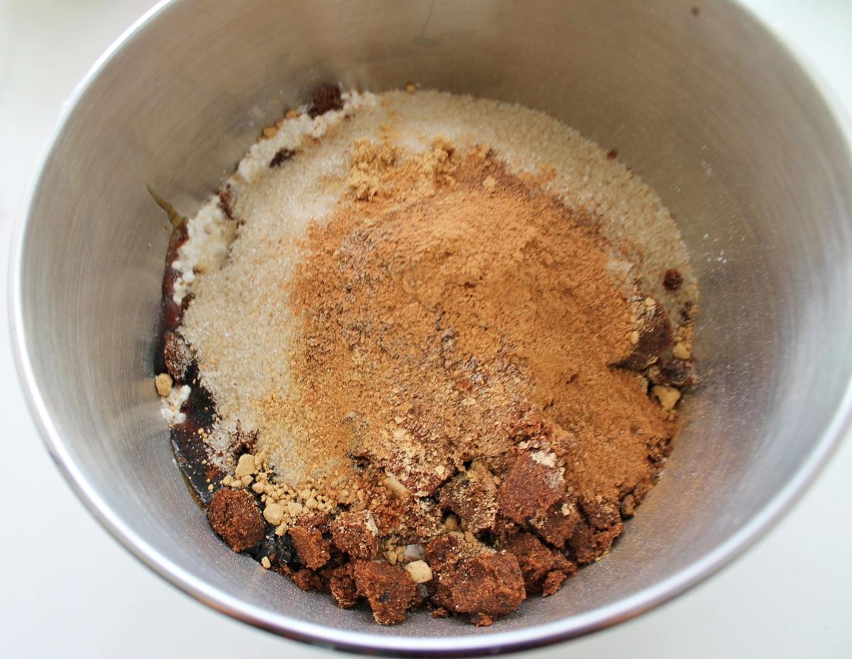 Krydderkage, tørre ingredienser, oktober 2013
