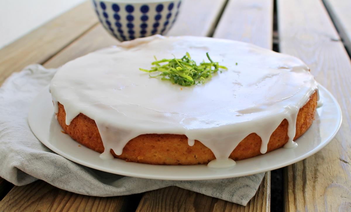 limetærte med marengs