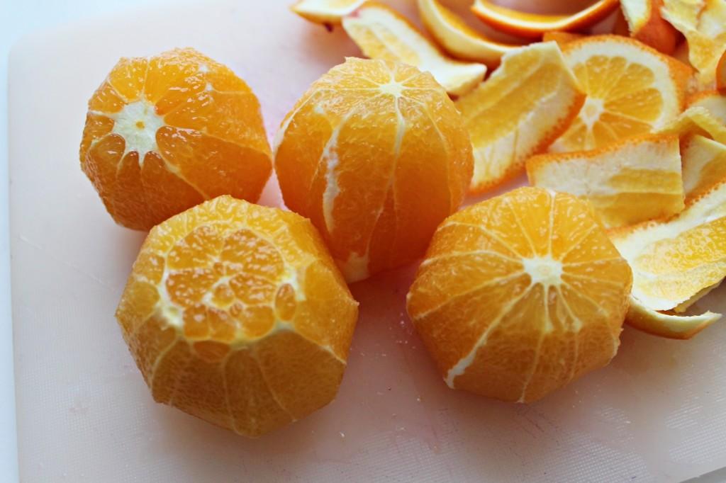 Rødkål, appelsiner, december 2013