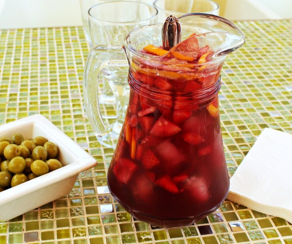 sangria drink opskrift