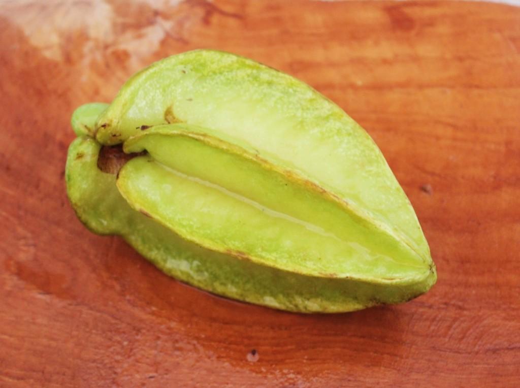 Sydøstasiens eksotiske frugter, stjernefrugt, Bali april 2014