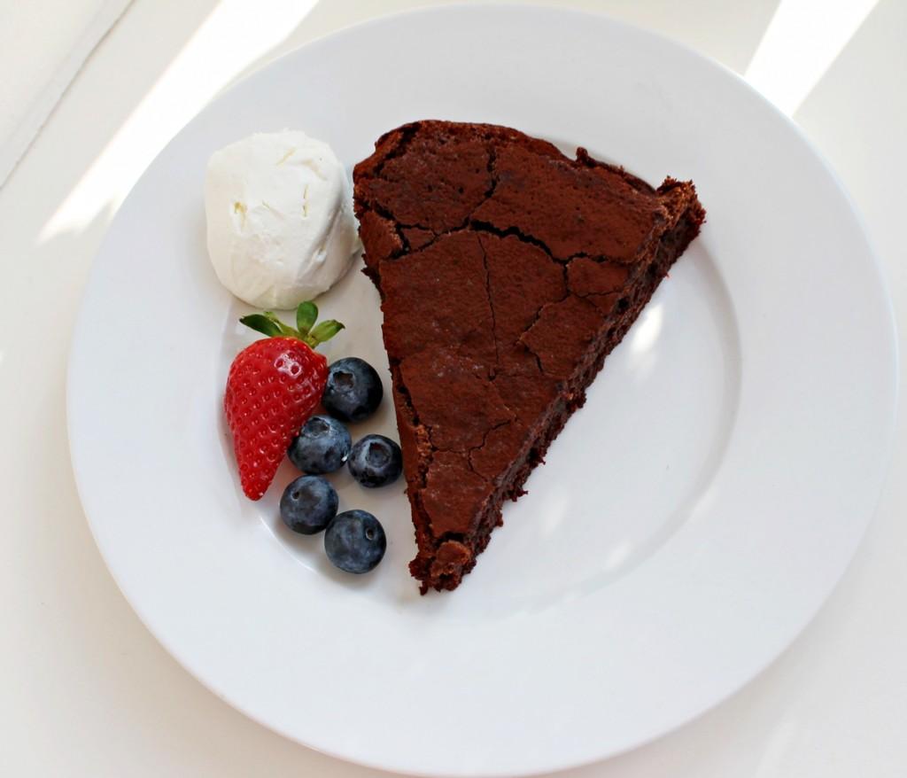 chokoladekage uden mel, så er der serveret1, april 2013