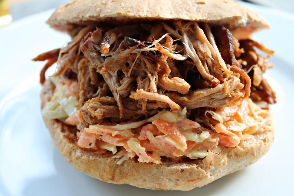 pulled pork, færdig, maj 2013