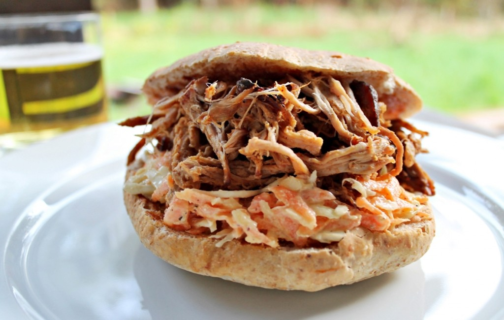 pulled pork, færdig1, maj 2013